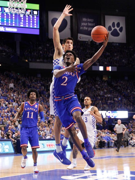 USP NCAA BASKETBALL: KANSAS AT KENTUCKY S BKC USA KY