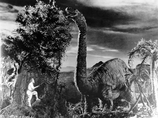 """Arthur Conan Doyle's silent sci-fi fantasy """"The Lost"""