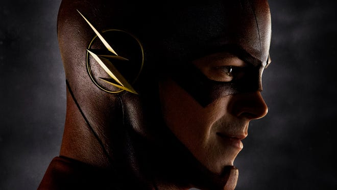 Grant Gustin plays The Flash, one of four new series due on the CW network next season.