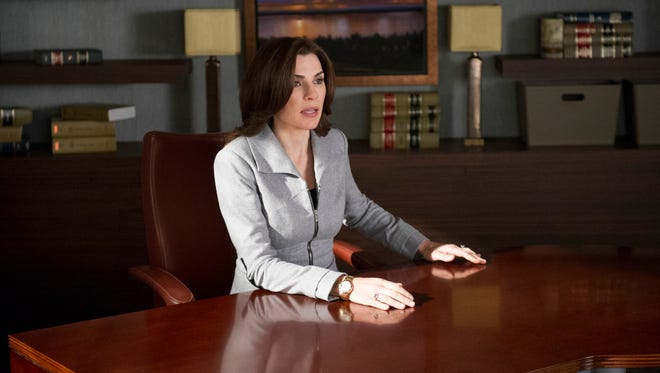 """Julianna Margulies stars as """"The Good Wife,"""" one of nine dramas renewed by CBS for the 2014-15 TV season."""