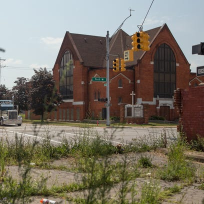 A view of the First Latin American Baptist Church,