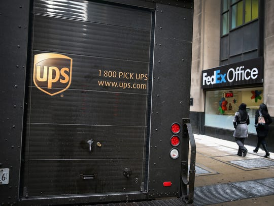 Could UPS, FedEx or another similar company be setting up shop at Collier and Davis boulevards?