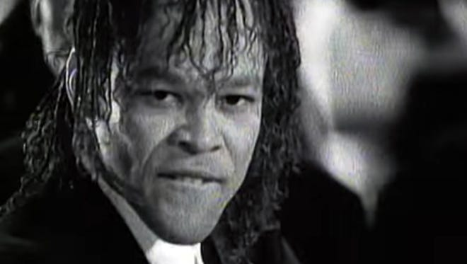 Bahamian singer Johnny Kemp, seen here in the video for his 1989 hit 'Just Got Paid,' was found dead in Jamaica on Thursday.