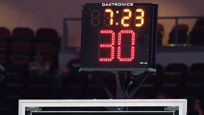 High school coaches hope to add a shot clock in Illinois.
