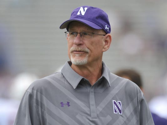 Northwestern University Football against Standford September 5, 2015 in Evanston, Ill