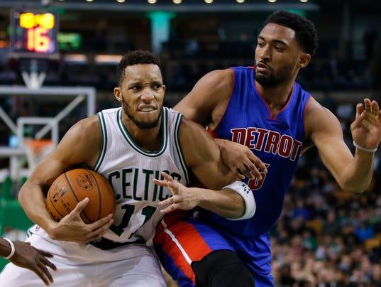 NBA: Detroit Pistons at Boston Celtics