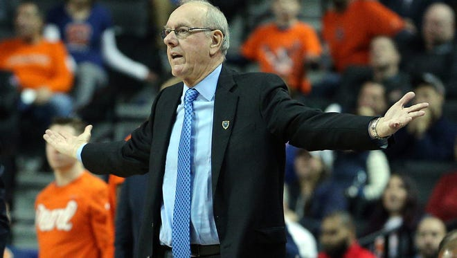Jim Boeheim and Syracuse will not open NIT play on Wednesday night in the Carrier Dome after Tuesday's game with UNC Greensboro was pushed back 24 hours due to a snowstorm.
