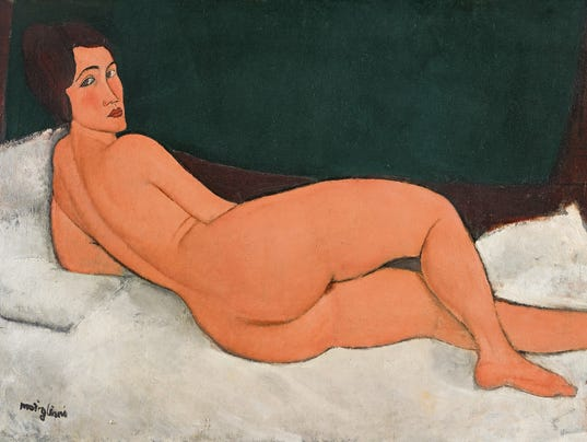 AP SOTHEBYS AUCTION MODIGLIANI A SPF USA NY