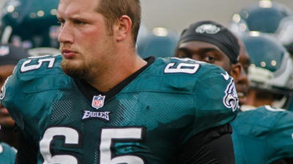 Lane Johnson was suspended for the first four games of the season.
