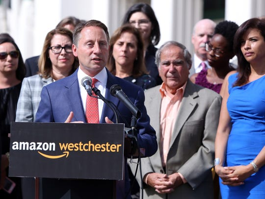 Westchester County Executive Rob Astorino announces