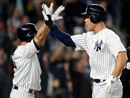 Brett Gardner, Aaron Judge