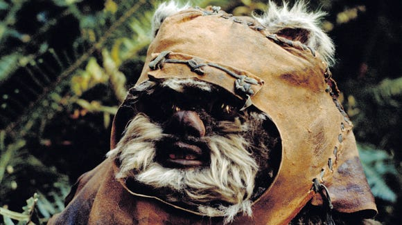 """Wicket the Ewok and his kind are MIA in the new """"Star"""