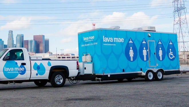 The United Way of the Mid-Willamette Valley is taking cues from Lava Mae, a California nonprofit that helps the homeless with mobile showers.