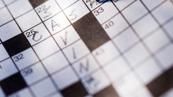 Crossword puzzles keep the brain active.