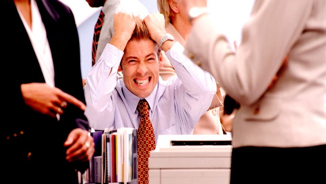 Stock image:  Frustrated Businessman.