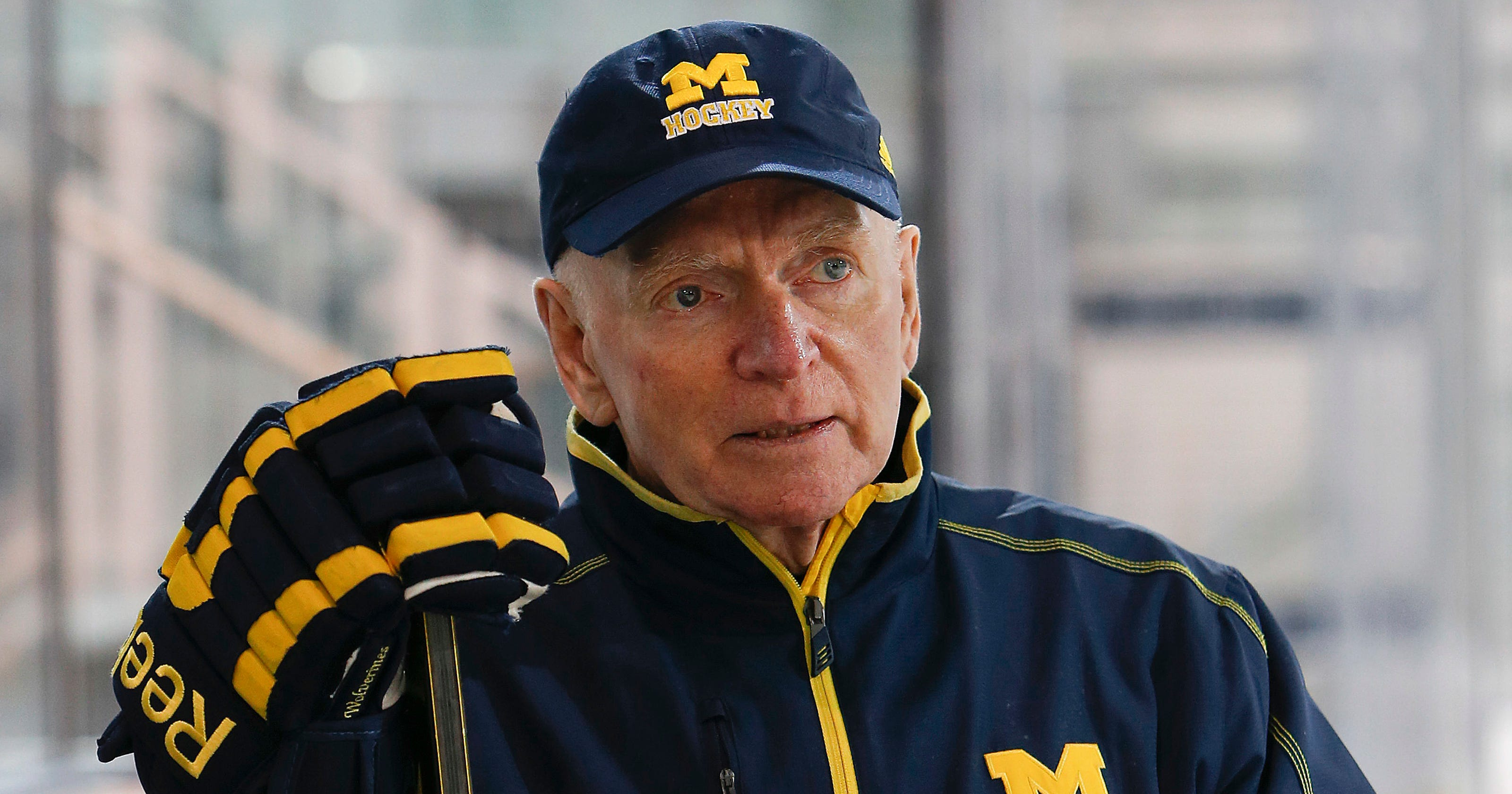 hockey replace Red Berenson  AD coach? Who