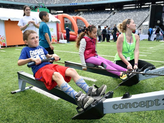 Metlife Stadium hosts Health and Fitness Expo