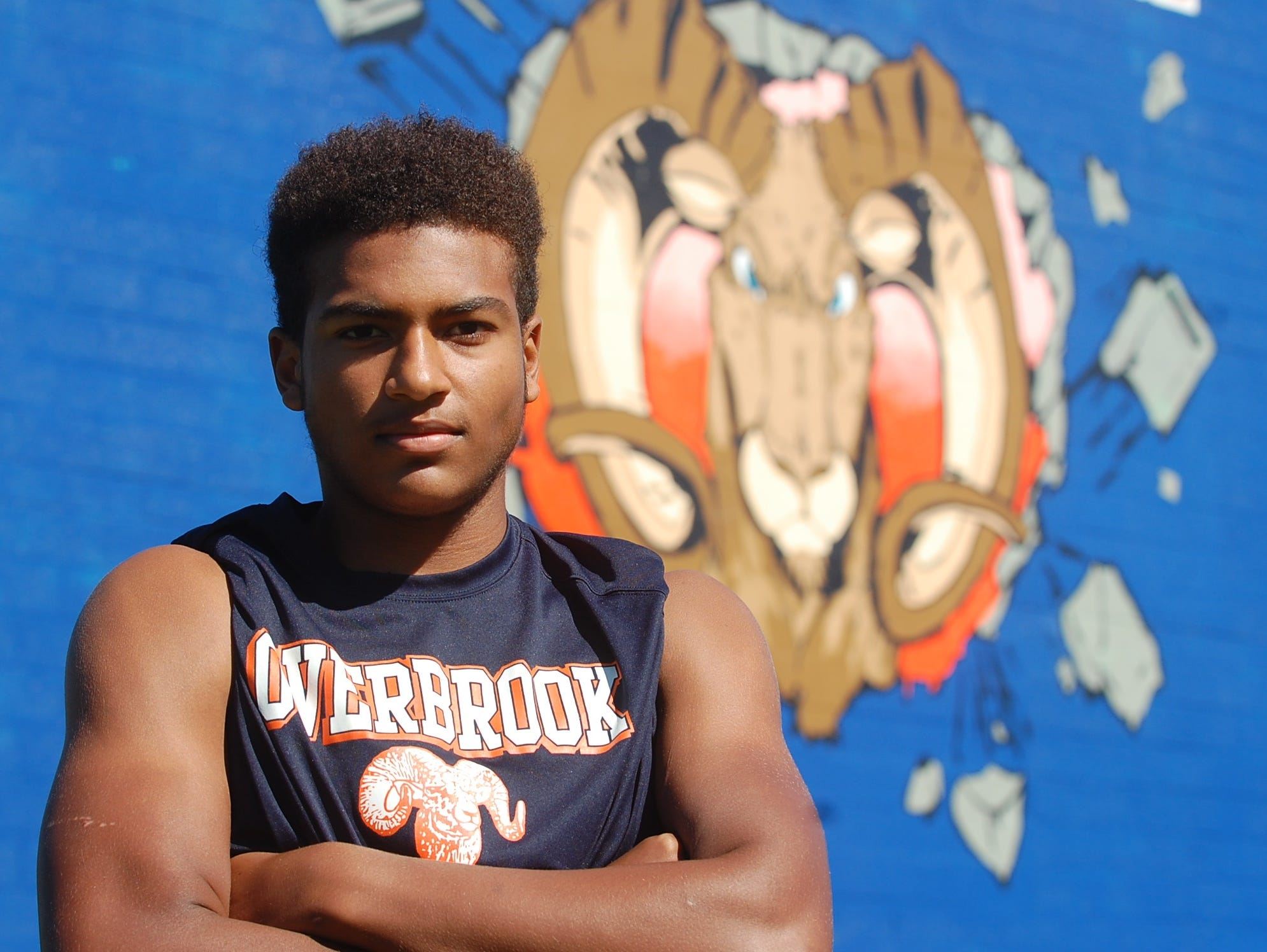 A senior at Overbrook High School, quarterback Tommy Wyatt has made considerable strides over a year ago.