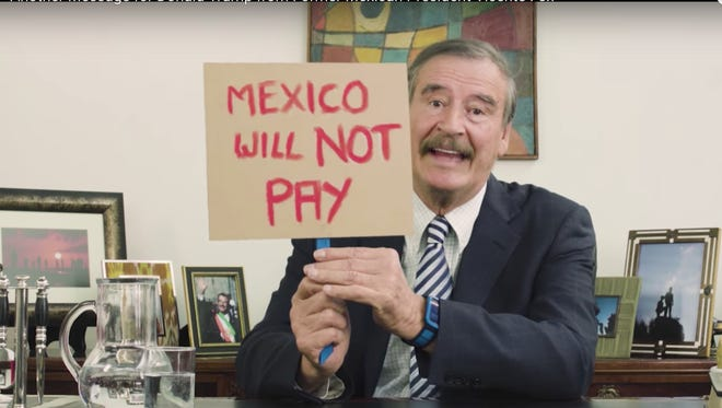 Former President of Mexico Vicente Fox roasts Donald Trump over taco bowls and his daddy issues.