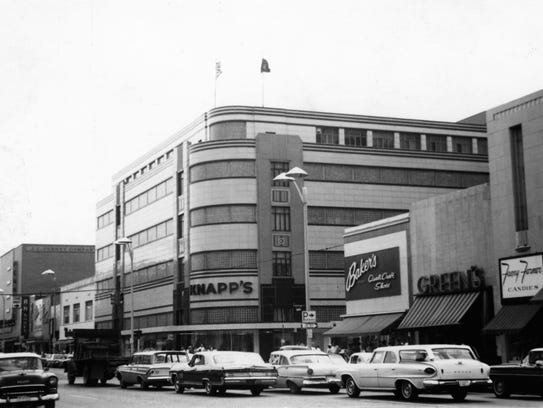 Knapp's in downtown Lansing, circa 1962.