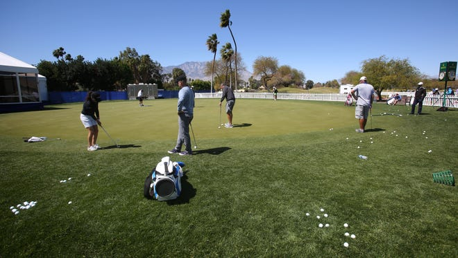 Golfers will need plenty of practice on chip[ping from long and thick rough to succeed at the ANA Inspiration championship this week.