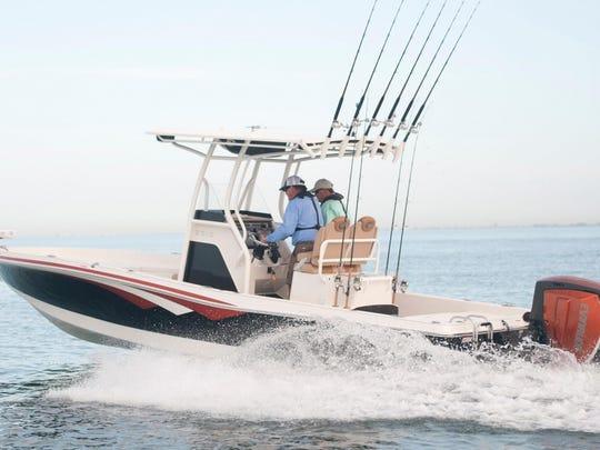 The 2017 Ranger Boats 2510 Bay Ranger.