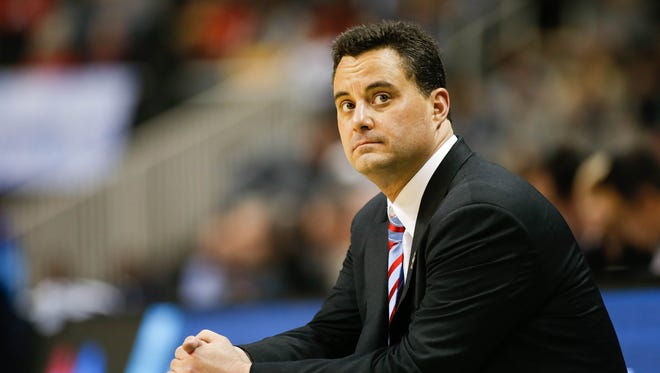 Arizona Wildcats head coach Sean Miller hasn't talked about the scandal surrounding his program.