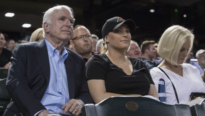 Meghan McCain in a February 2018 podcast said her father, U.S. Sen. John McCain, is doing well and is likely to return to Washington, D.C.