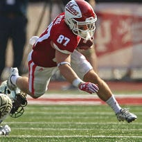 Hoosiers hope Richard Lagow learns from first hiccup, gets offense clicking