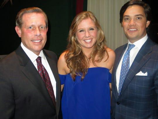 Dr. Darrell Barnett, Charlotte Barnett and  Houstoun