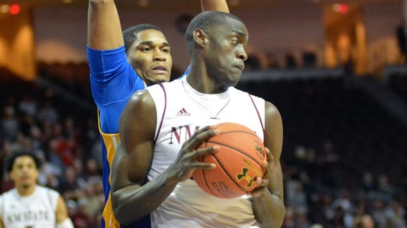 New Mexico State's Pascal Siakam did a pre-draft workout with the Utah Jazz on Tuesday.