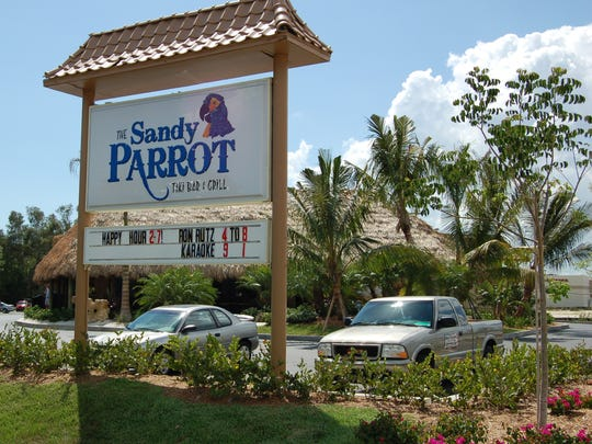 The Sandy Parrot Tiki Bar & Grill operated for six years off U.S. 41 in south Fort Myers.