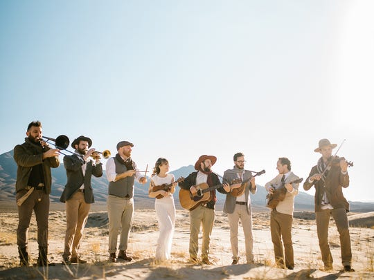 Dustbowl Revival performs at Asheville's The Grey Eagle