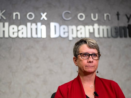 Knox County Heath Department Director Dr. Martha Buchanan