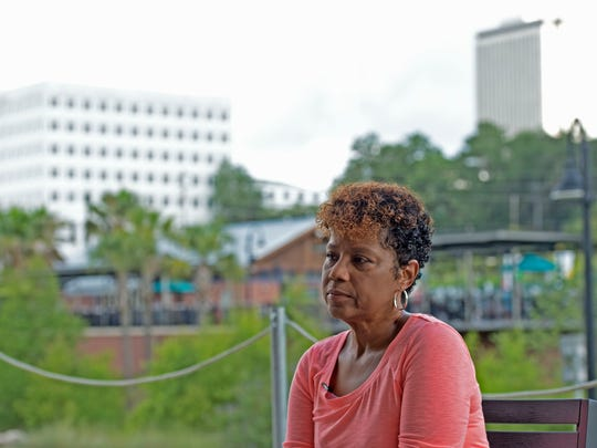 "Since retiring in 2016, Marshelle Moreland, 56, of Tallahassee, is more politically engaged than ever and has joined the League of Women Voters. ""I actually have the time to get in the trenches and find out what's going on that impacts my community, what's going on that impacts my race, what's going on that impacts my gender, what's going on that impacts Christians. And what's going on that will impact the totality of the state of Florida. It concerns me greatly,"" she said."