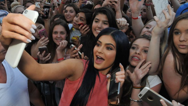 Before there were selfies, socialites commissioned artists to paint portraits of their likenesses. Kylie Jenner is now one of them.