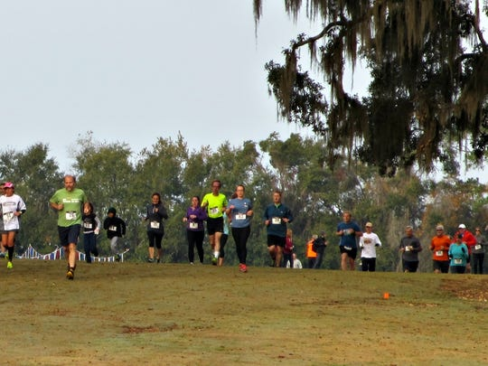 Last year's Trash Dash at the beautiful Leon County Apalachee Regional Park's cross country track.