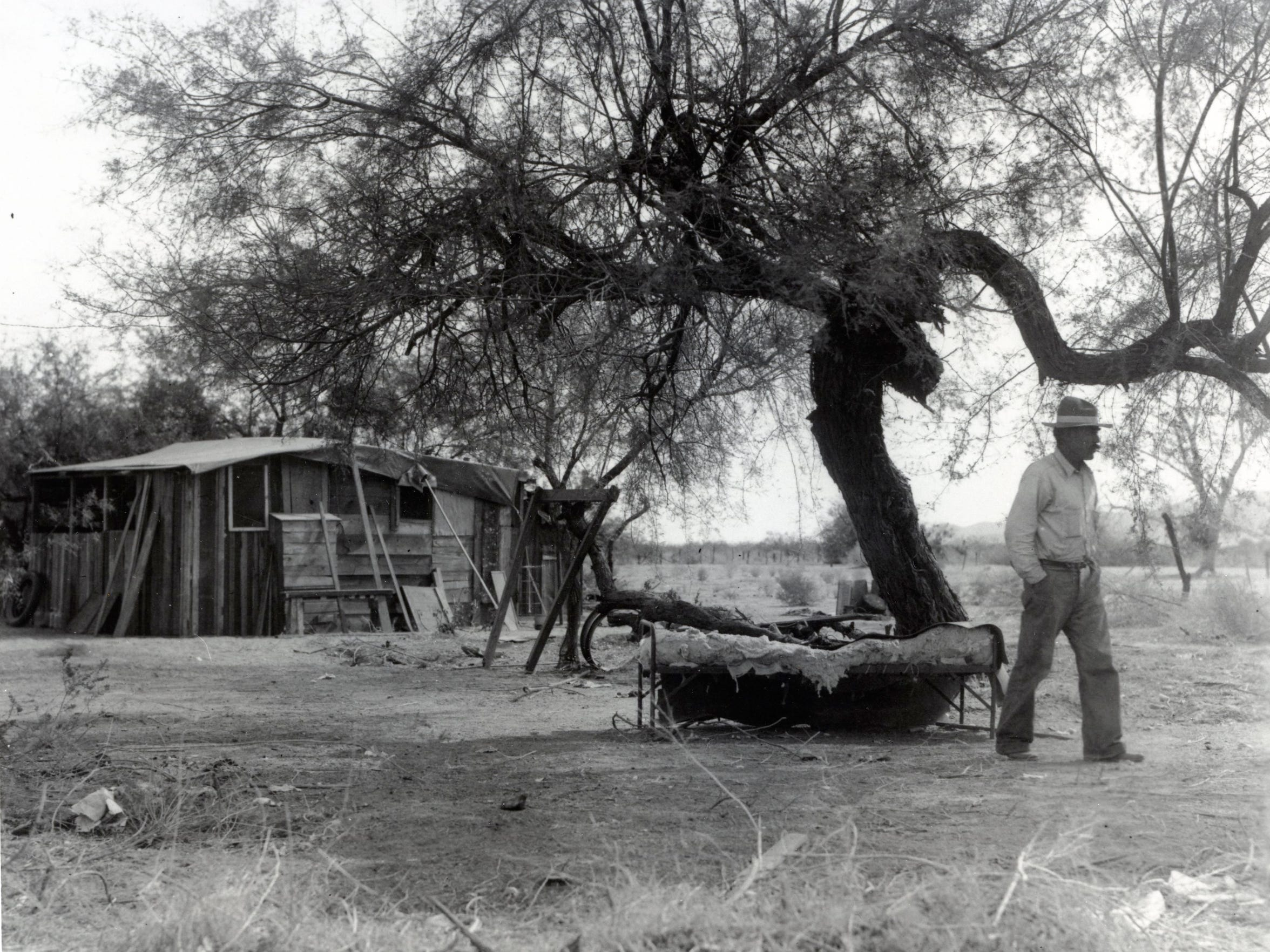 A home on Section 14 before 1950.