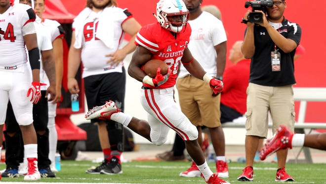 The Cincinnati Bengals traded up to select Houston Cougars cornerback Brandon Wilson in the 2017 NFL Draft.