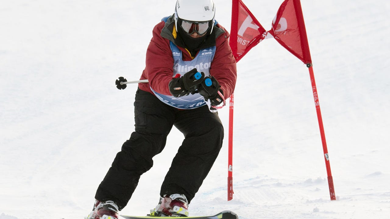 Regi Theodore-Wise talks about winning a gold and bronze medal skiing at the Special Olympics World Games in Austria and how she came to terms with autism late in life with the help of a man who ran the rental shop at Roundtop Mountain Resort.