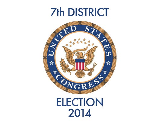 an examination of the 7th district congressional race Voters in the 7 th congressional district will have two familiar choices on the ballot in november they faced each other before this time the result may.