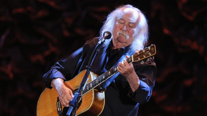 David Crosby performs in Los Angeles in 2013.