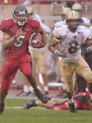 Bosse standout Levron Williams was an all-Big Ten running back at Indiana University.