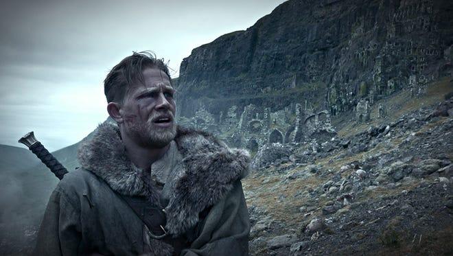 "Charlie Hunnam as Arthur in  ""King Arthur: Legend of the Sword."""