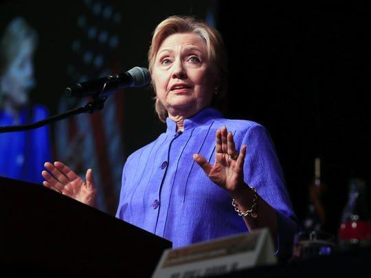 Hillary Clinton at the 50th Rainbow PUSH Coalition