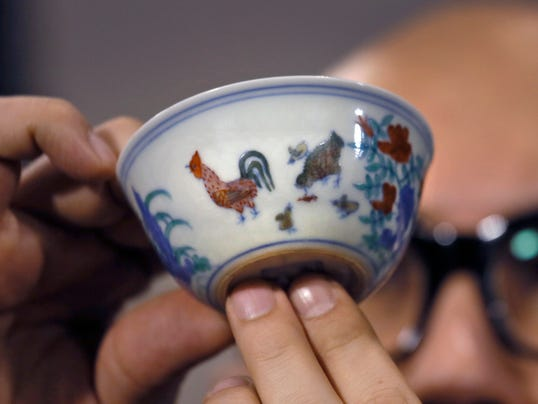 Ming Dynasty Chicken Cup Sells For Record 36m