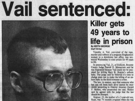 A Nov. 16, 1989 clipping from the Press & Sun-Bulletin