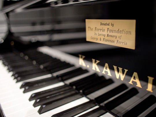 A $33,000 gift from the Ferris Foundation has purchased this grand piano for Marysville Public Schools. A dedication ceremony for the piano will be held Oct. 26 at Marysville High School.