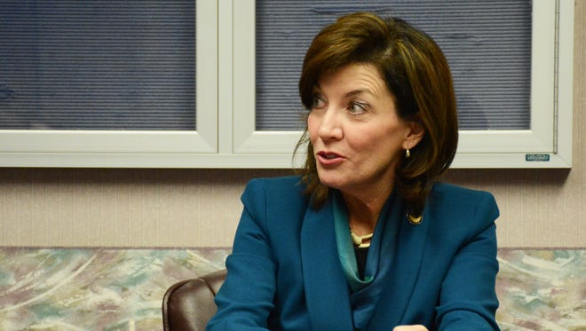 New York Lt. Gov. Kathleen Hochul, spoke with Central New York Media Group/USA Today Network editors about economic development in the region.