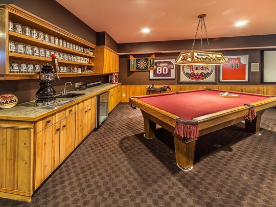 Scott Wise, owner of Scotty's Brewhouse restaurants, installed the tap in the basement bar of his home.